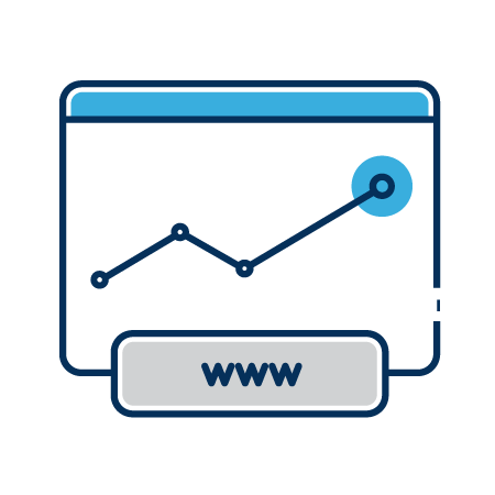 Website marketing icon