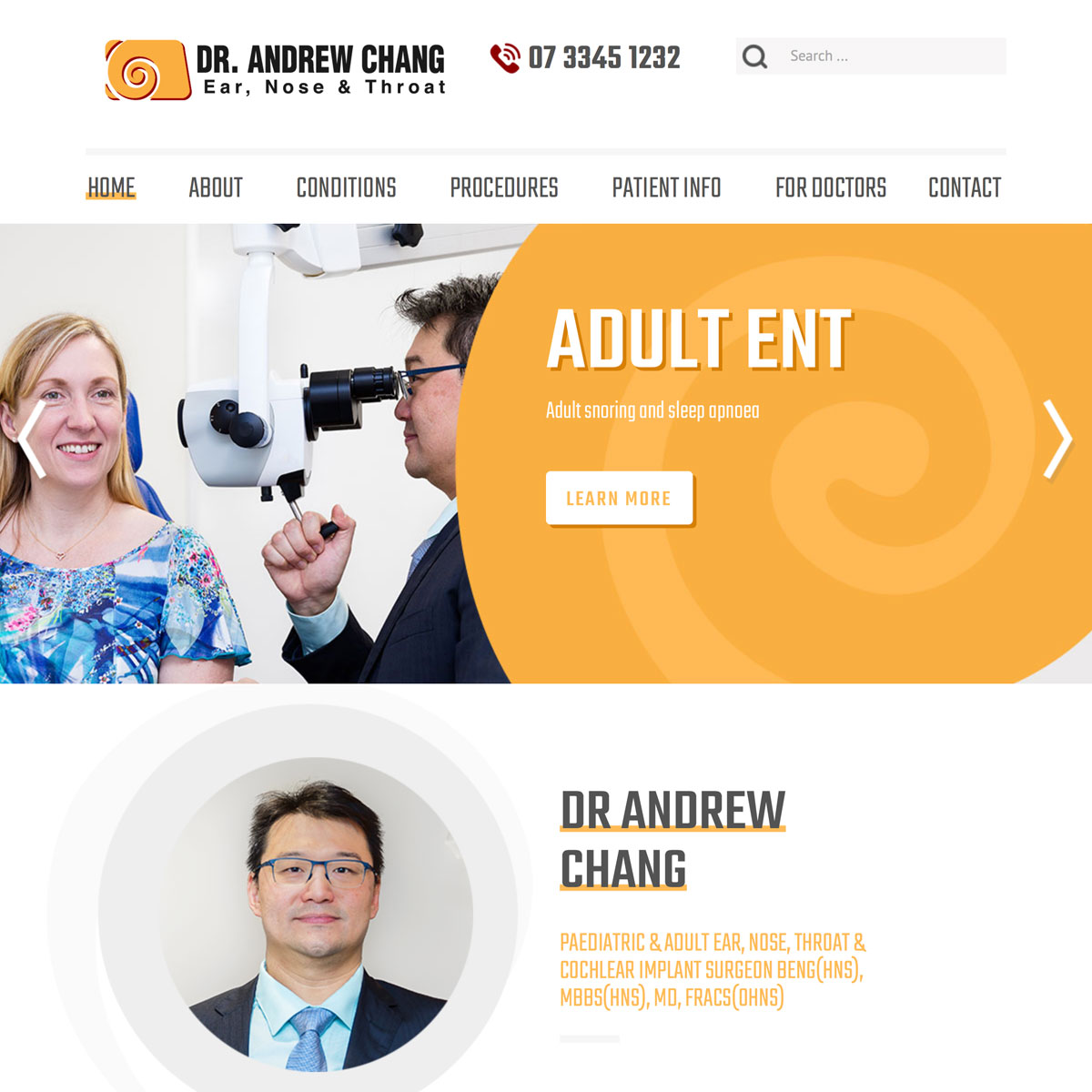 Dr Andrew Chang - Home