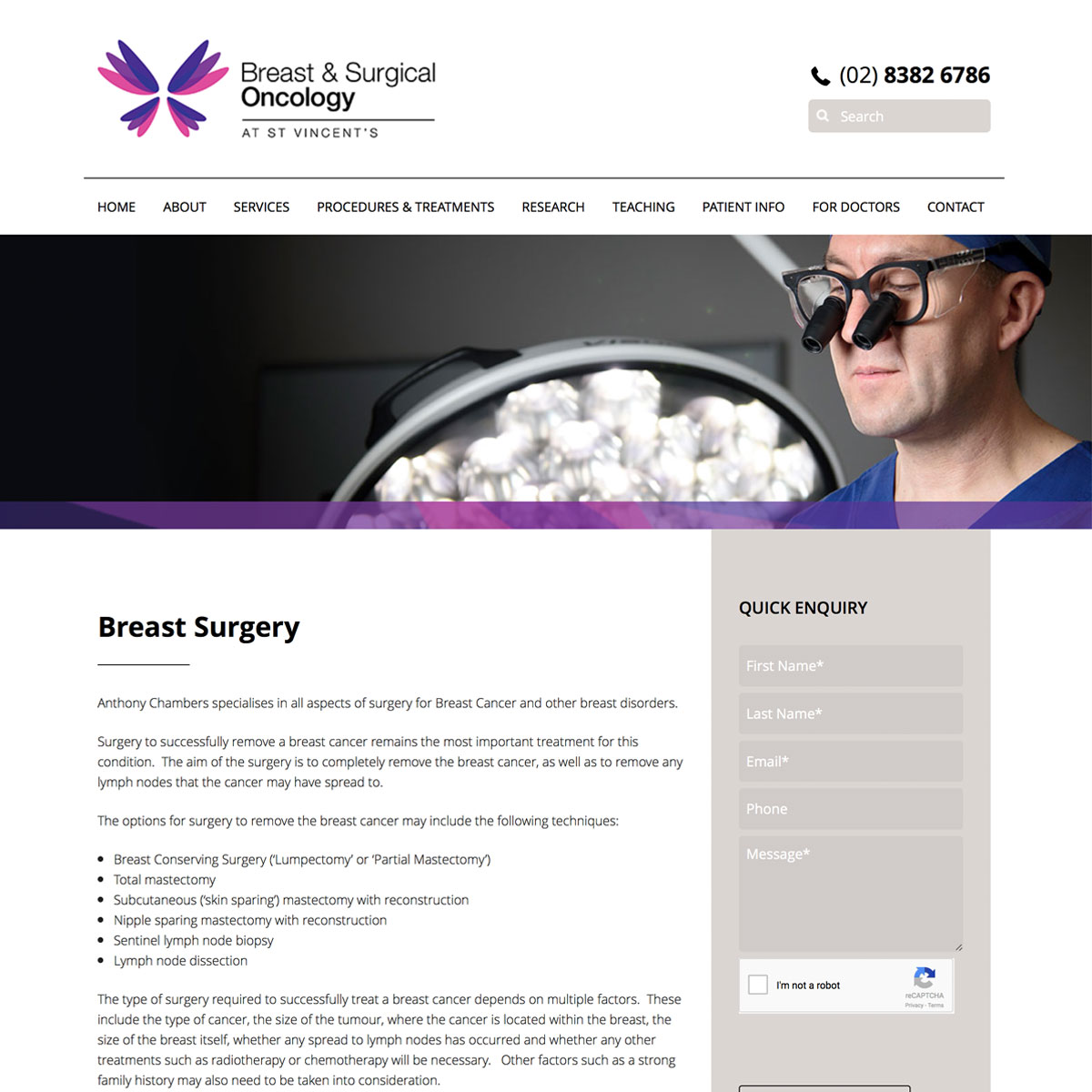 Surgical Oncology - Breast Surgery
