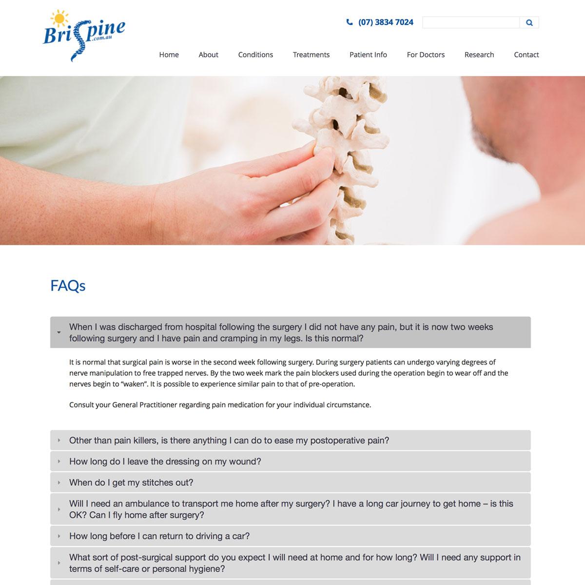 Brispine - FAQ