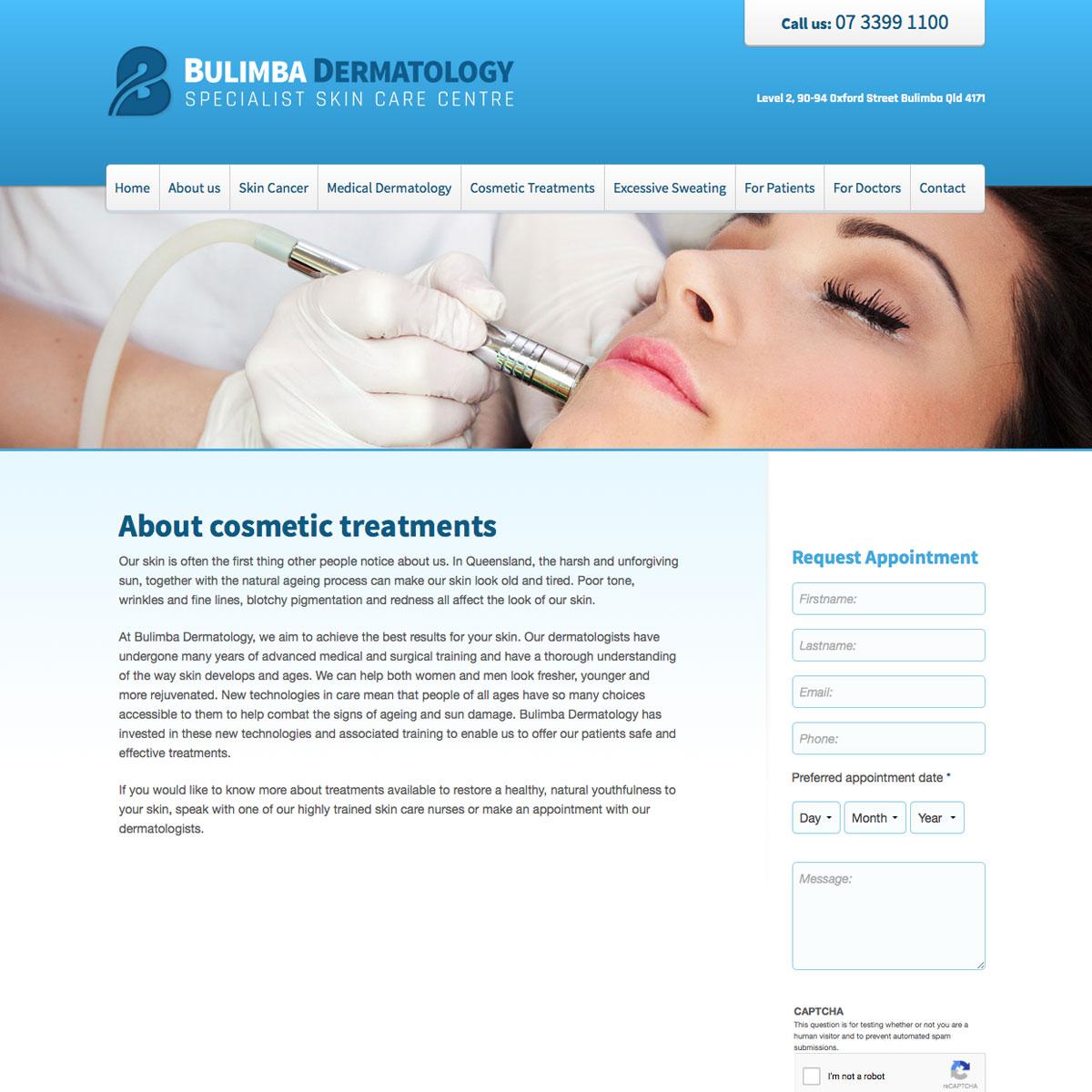 Bulimba Dermatology About Cosmetic Treatments