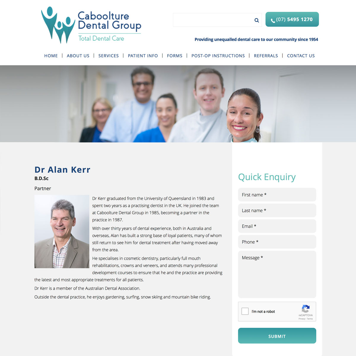 Caboolture Dental - Dr Alan Kerr