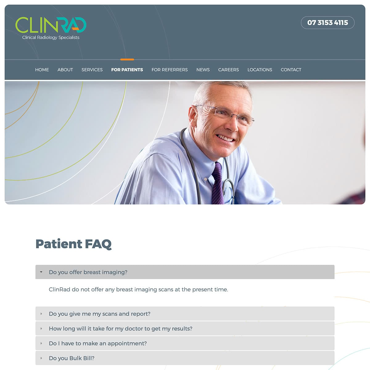 ClinRad - For Patients