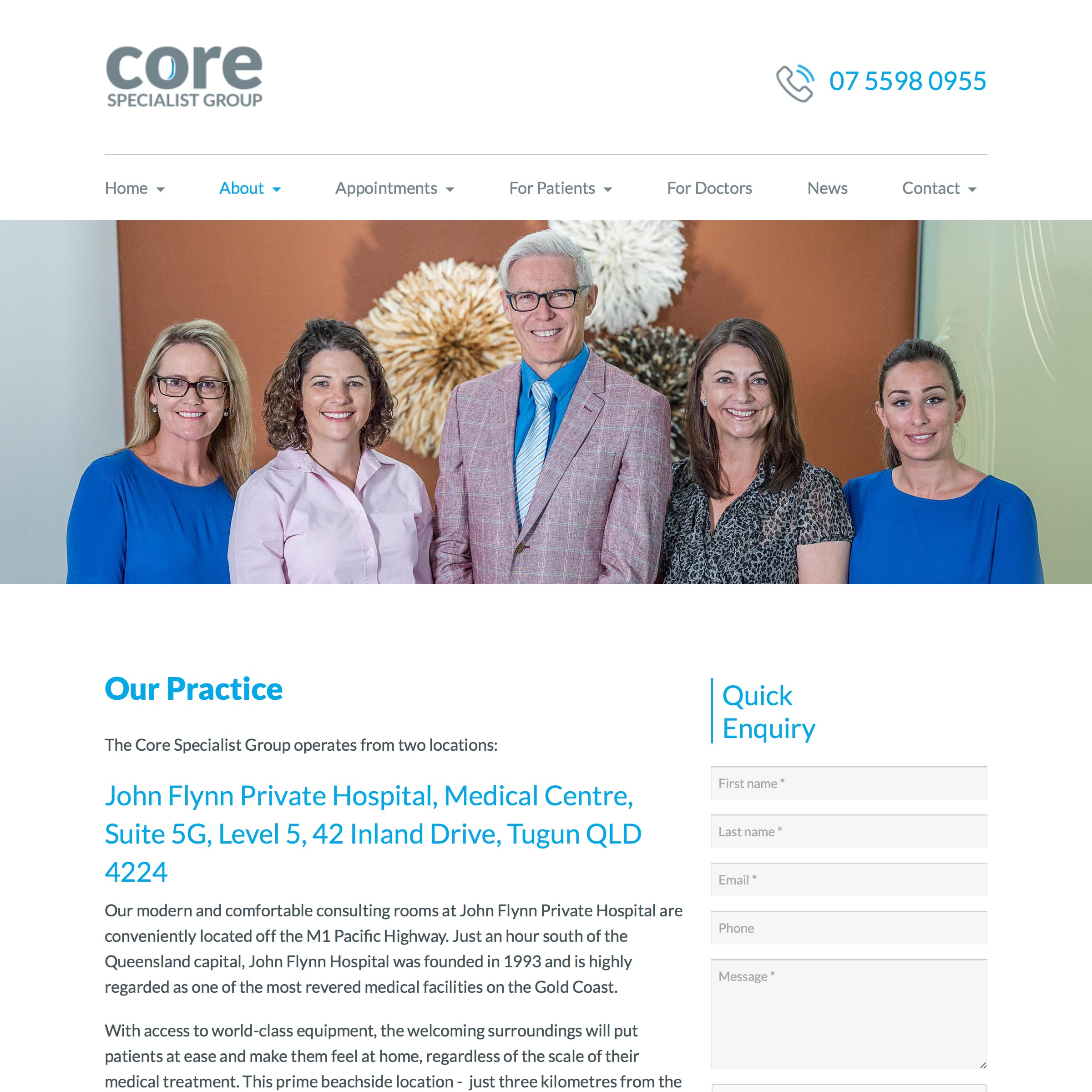 Core Specialist Group - Our Practice