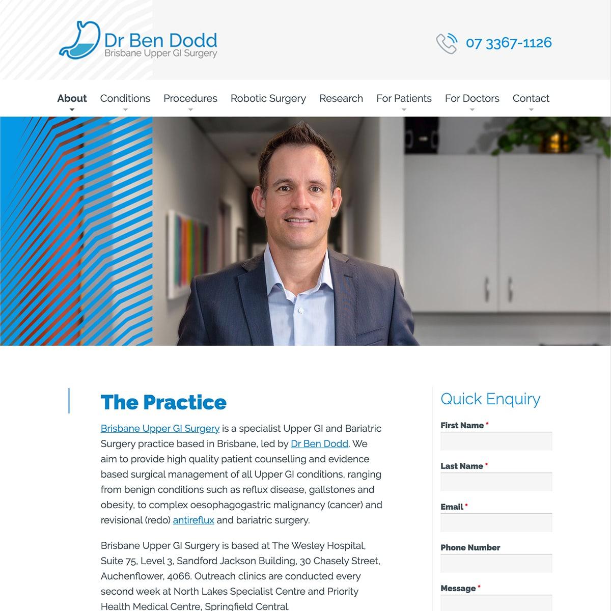 Dr Ben Dodd - The Practice