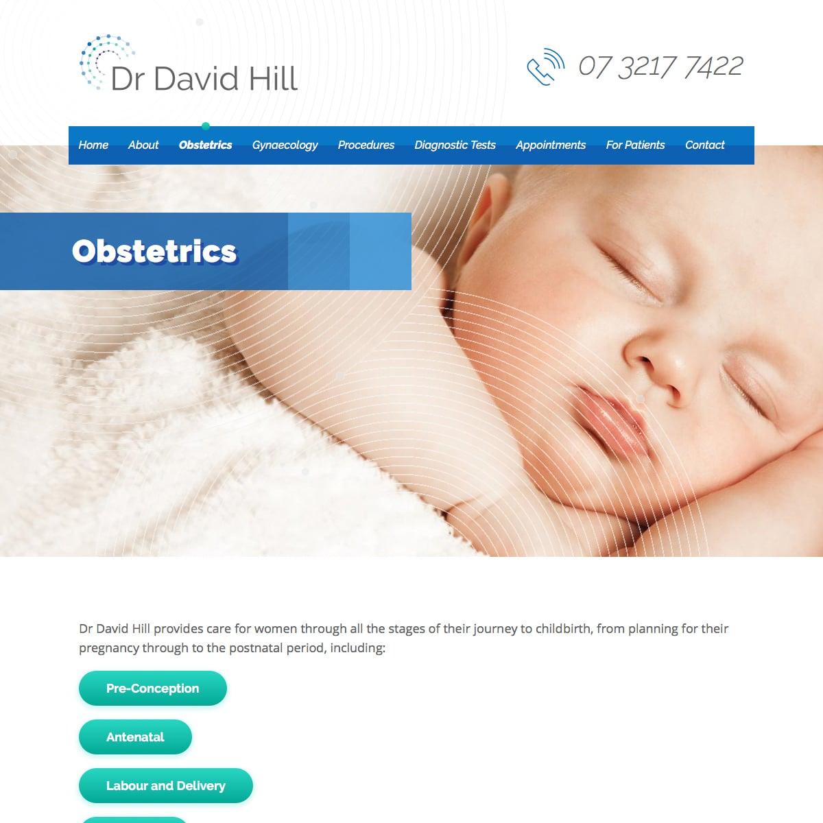 Dr David Hill - Obstetrics