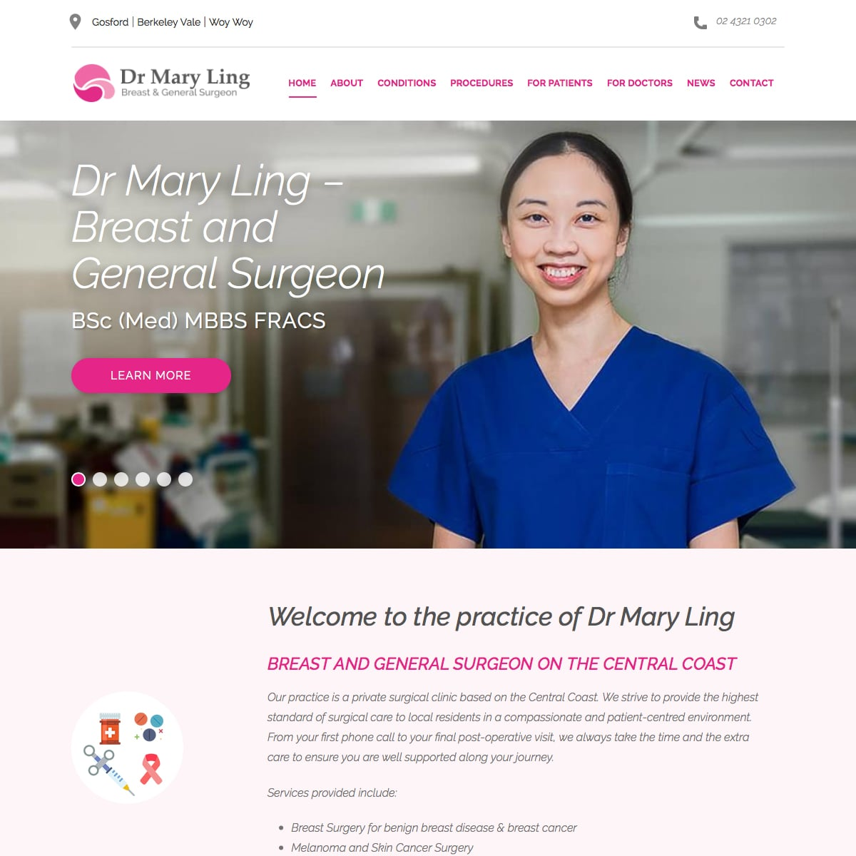 Dr Mary Ling - Home