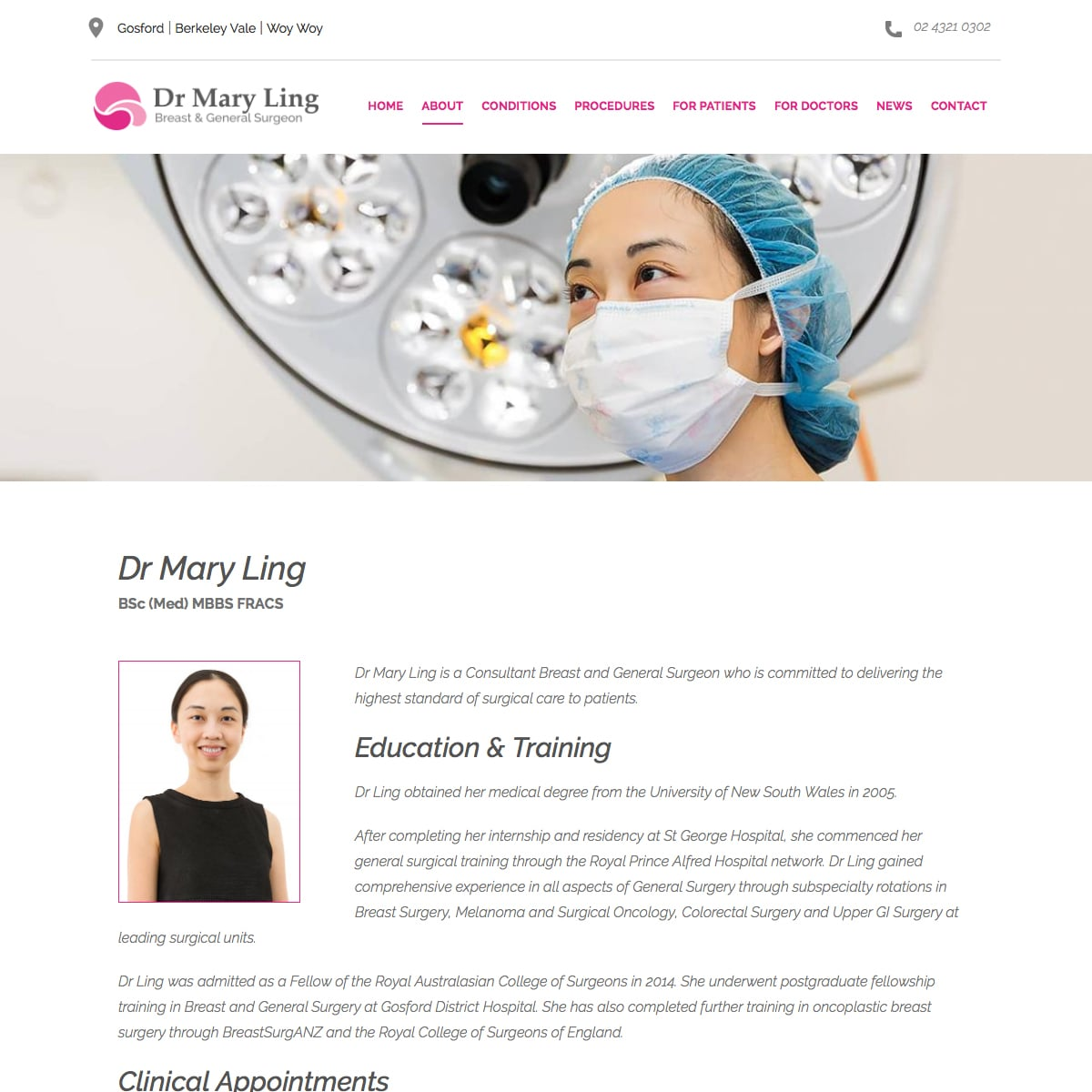 Dr Mary Ling - Bio