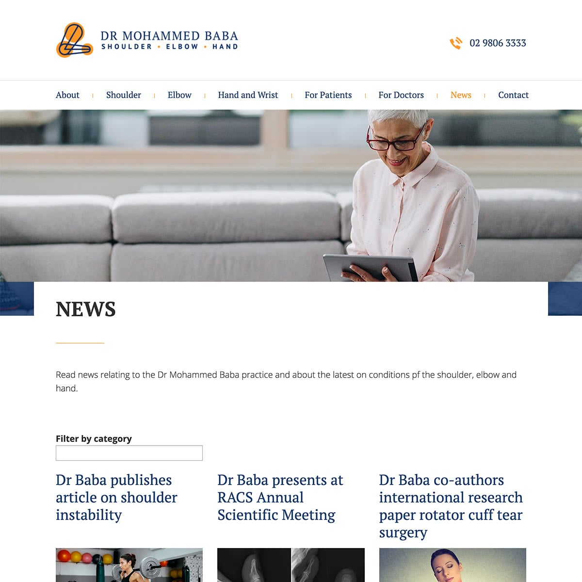 Dr Mohammed Baba - News