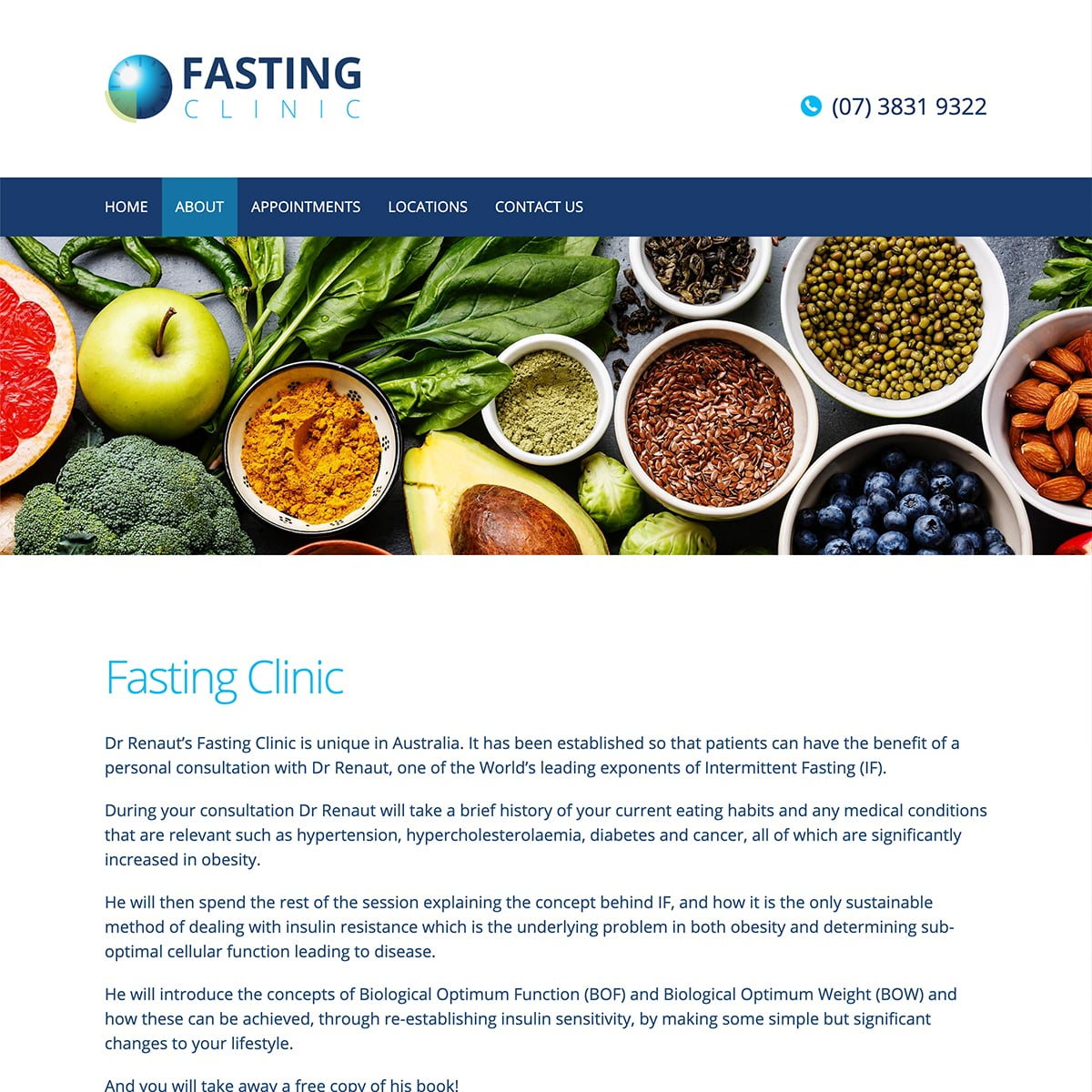 Fasting Clinic - About