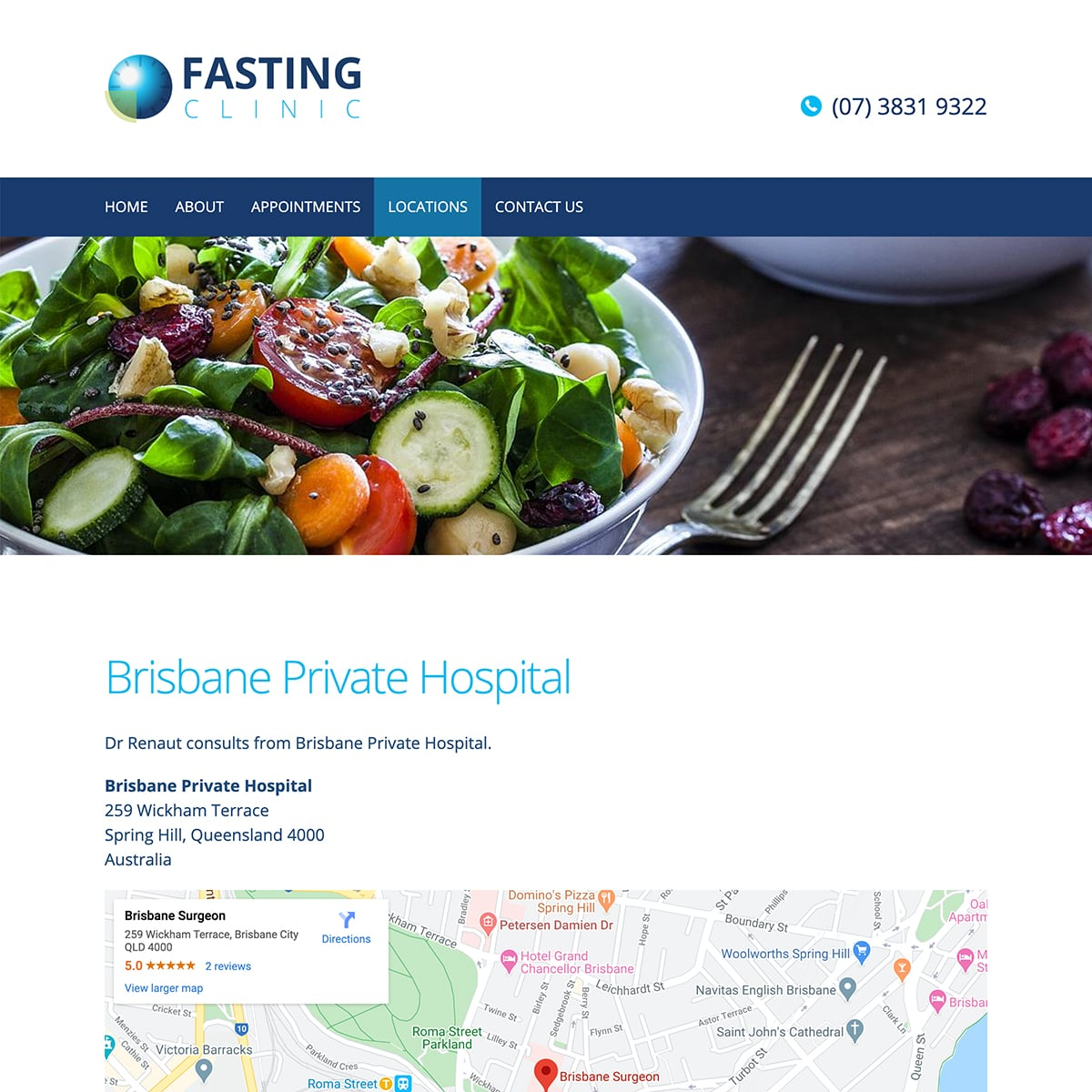 Fasting Clinic - Locations