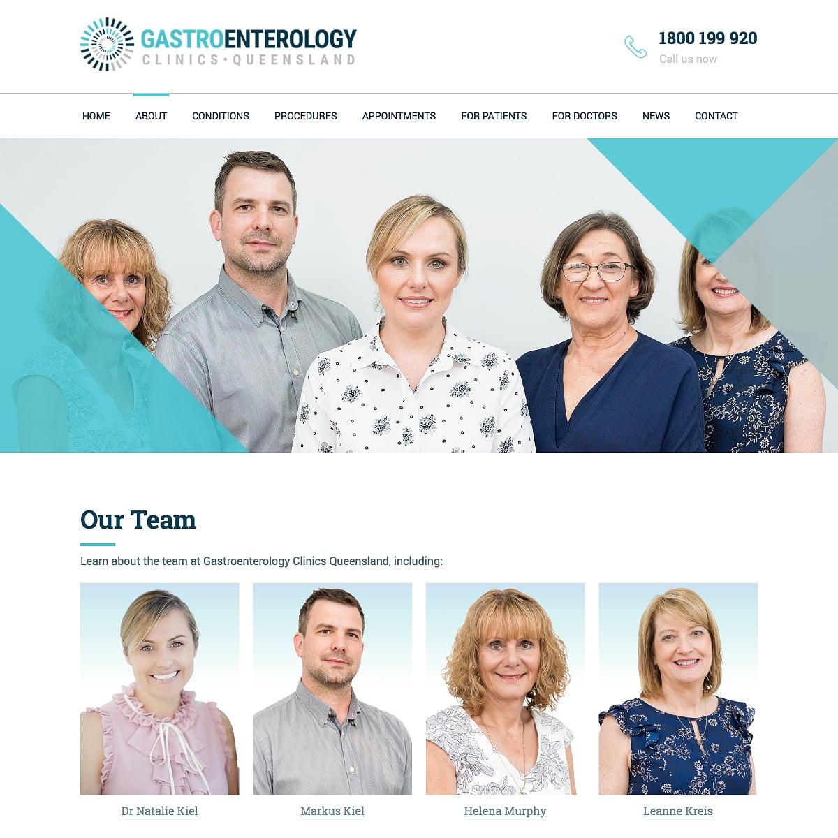 Gastroenterology Clinics Queensland - Our Team