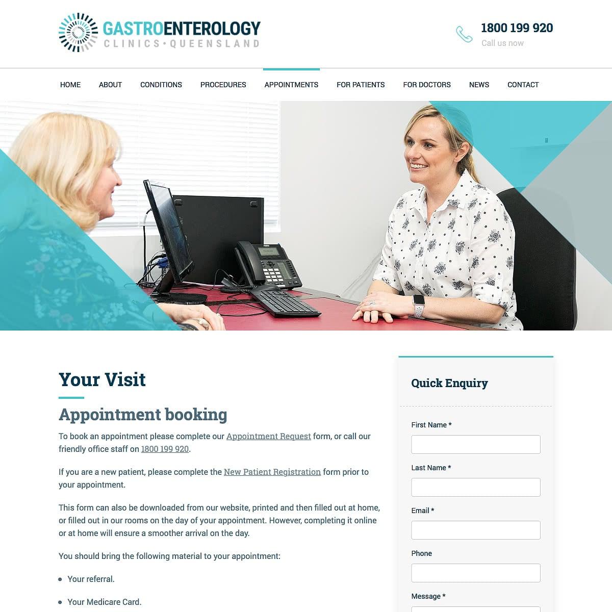 Gastroenterology Clinics Queensland - Your Visit
