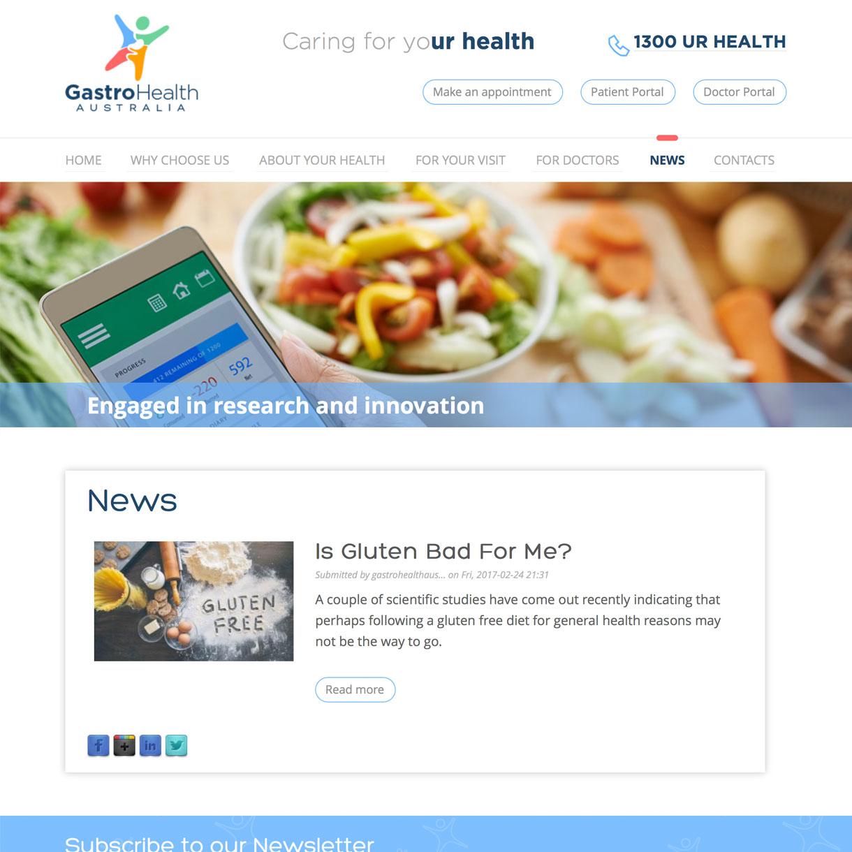 Gastro Health - News
