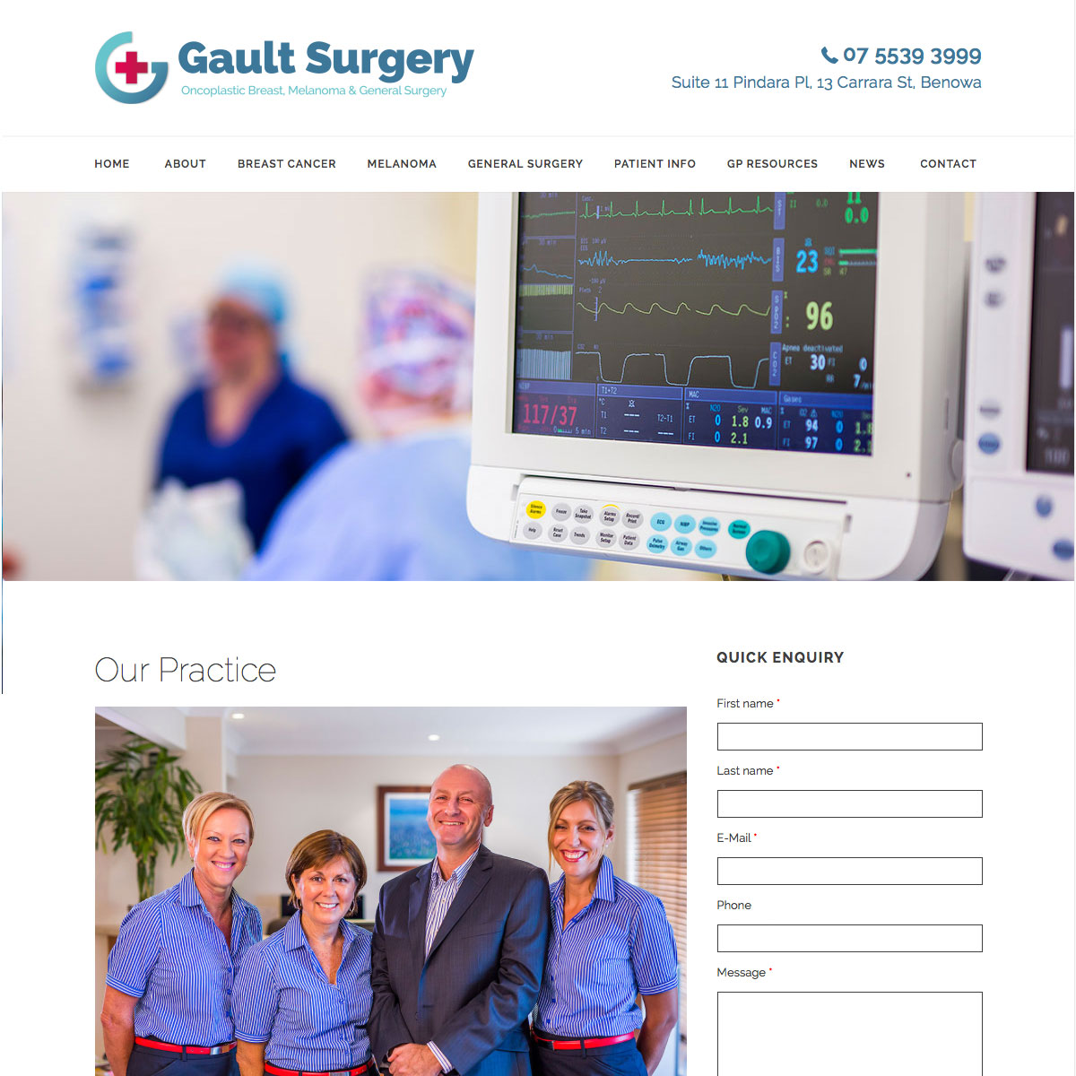 Gault Surgery Our Practice
