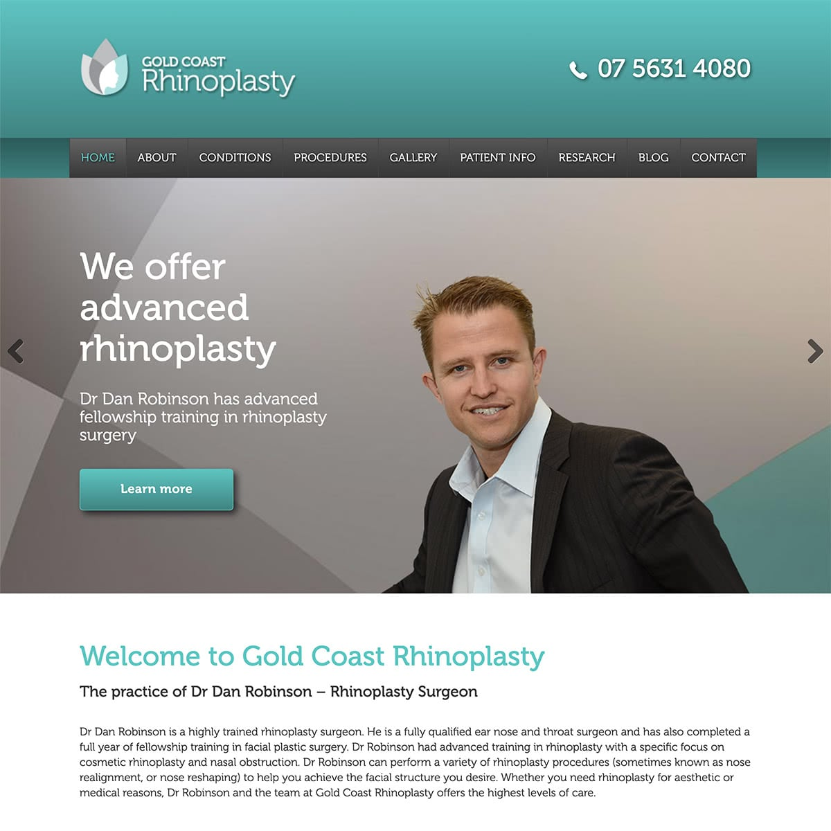 Gold Coast Rhinoplasty - Homepage Banner