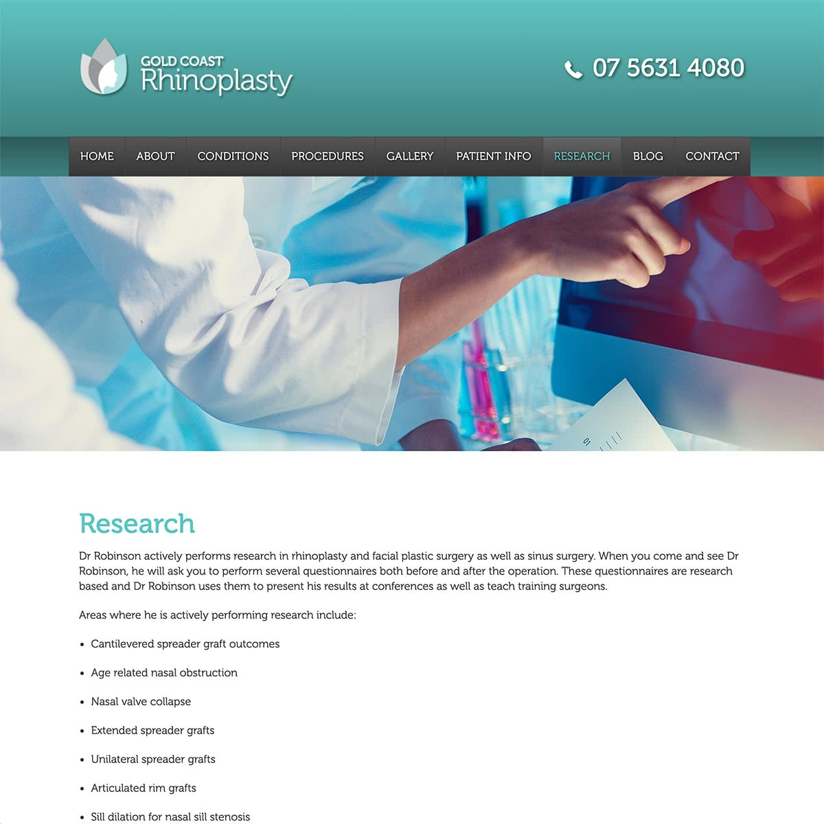 Gold Coast Rhinoplasty - Research