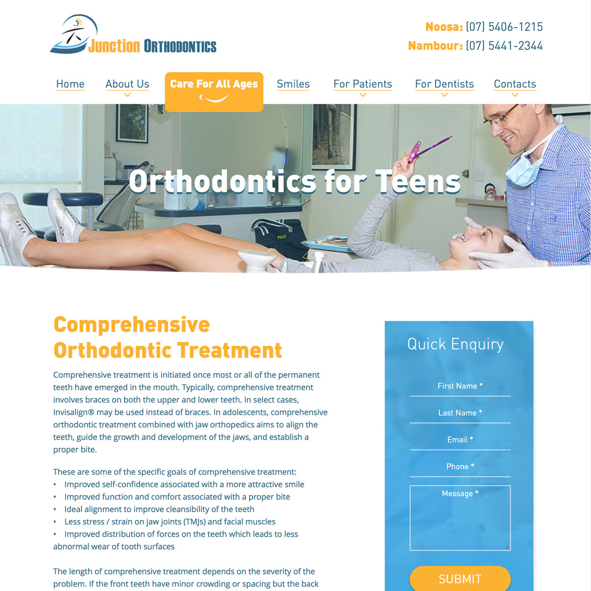Junction Orthodontics - Teens