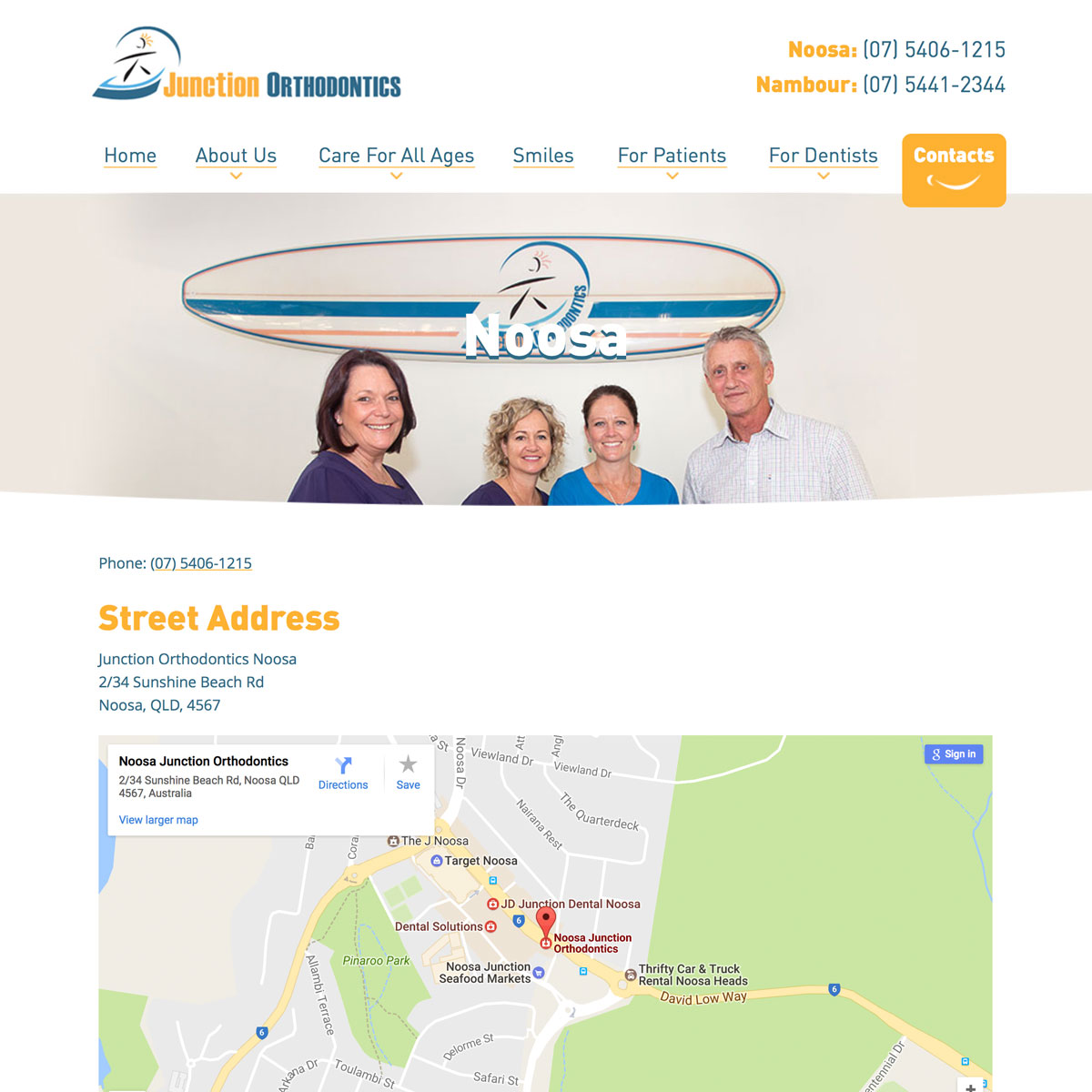 Junction Orthodontics - Contact