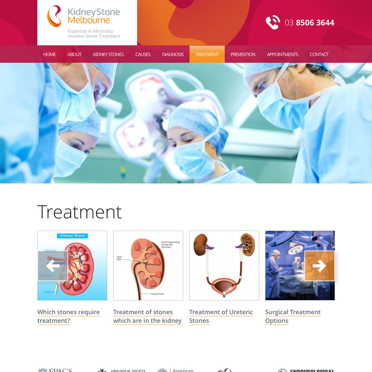 Kidney Stone Melbourne - Treatment