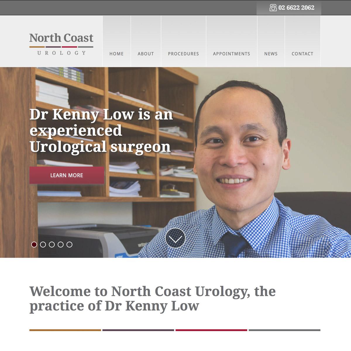 North Coast Urology Home
