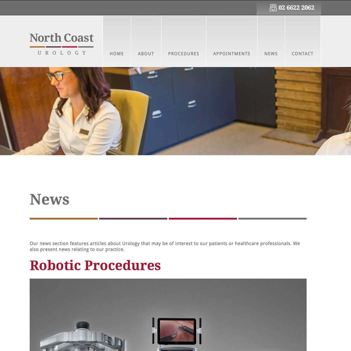 North Coast Urology News