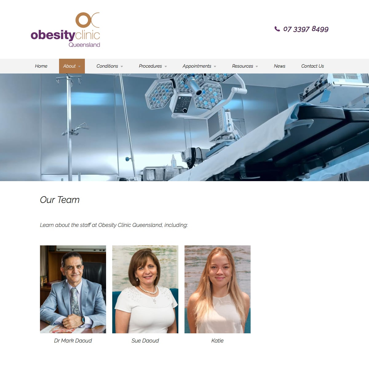 Obesity Clinic Queensland - Our Team