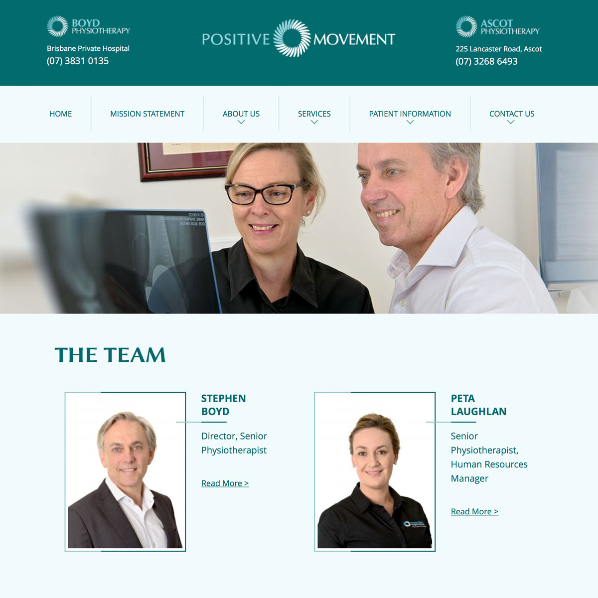 Positive Movement - The Team
