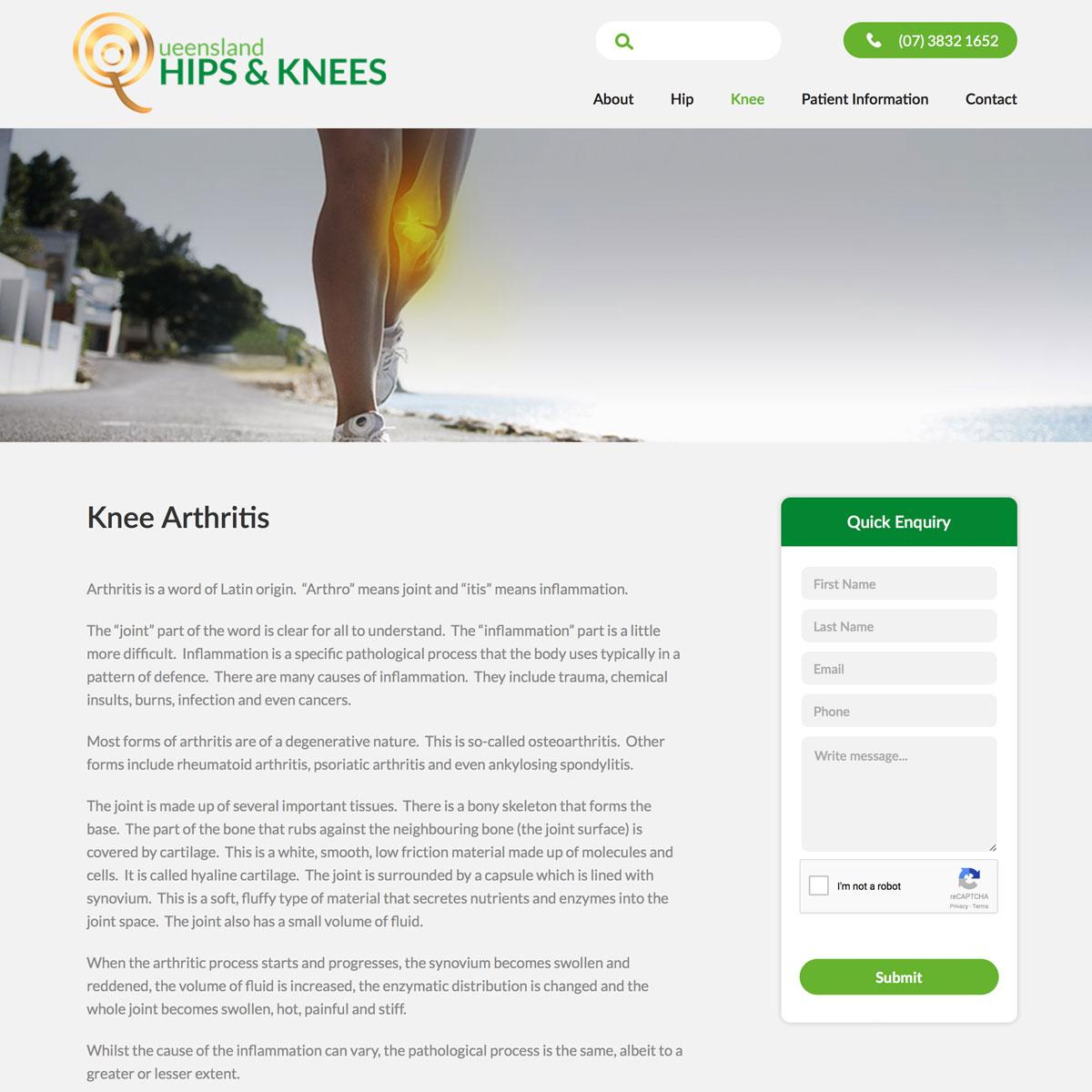Queensland Hips and Knees - Knee