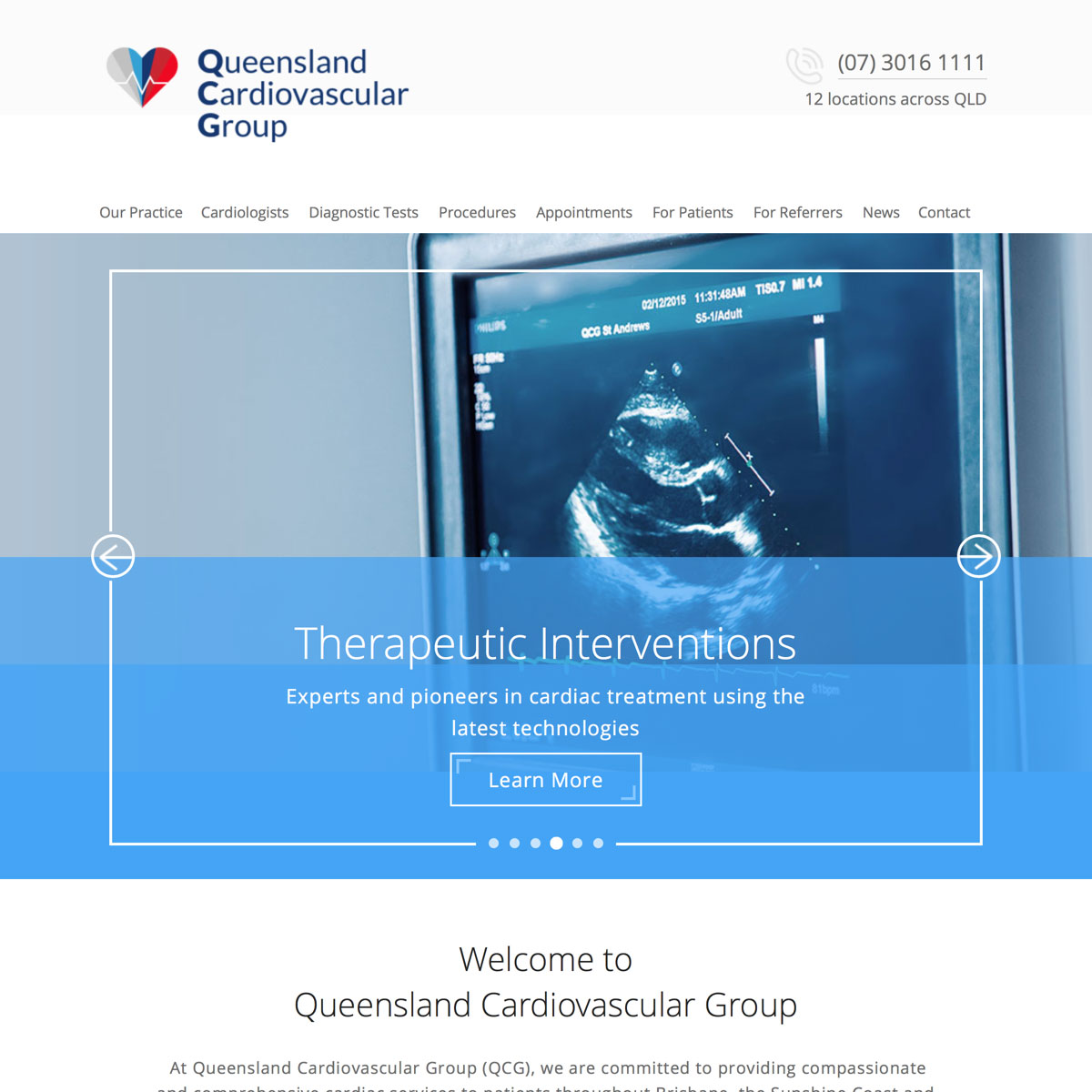 Queensland Cardiovascular Group - Home