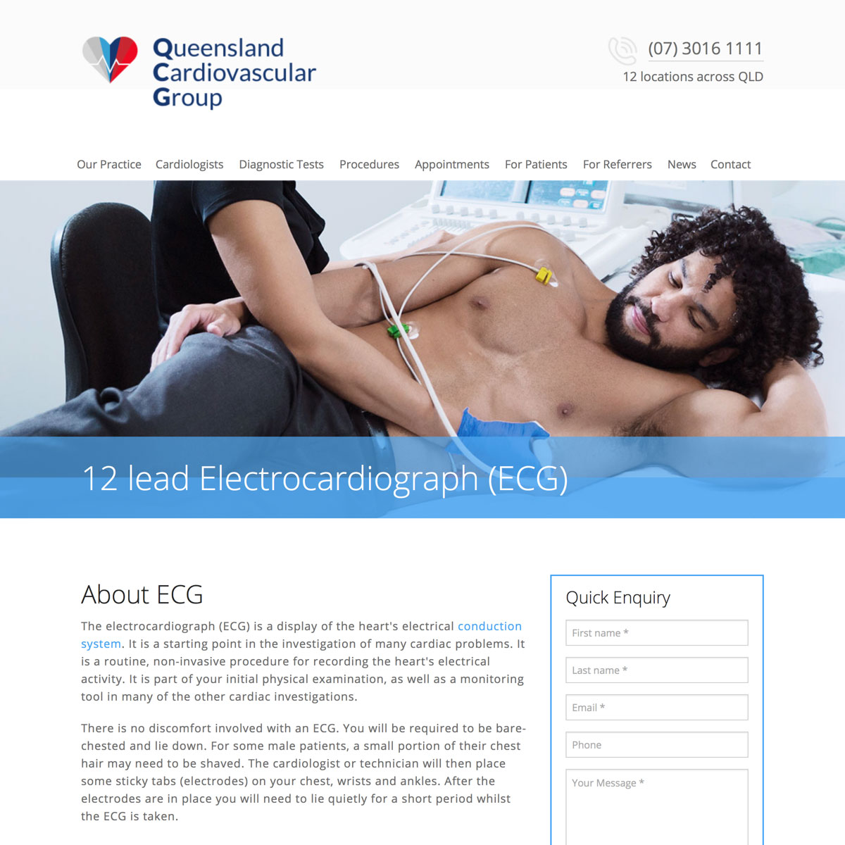 Queensland Cardiovascular Group - Diagnostic Test