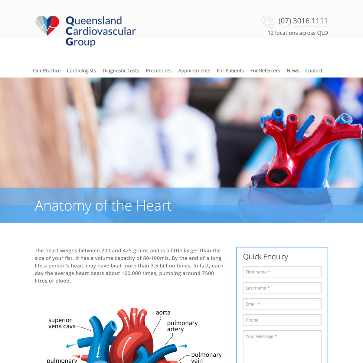 Queensland Cardiovascular Group - For Patients