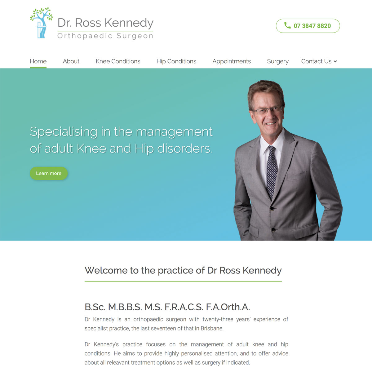 Dr Ross Kennedy - Home