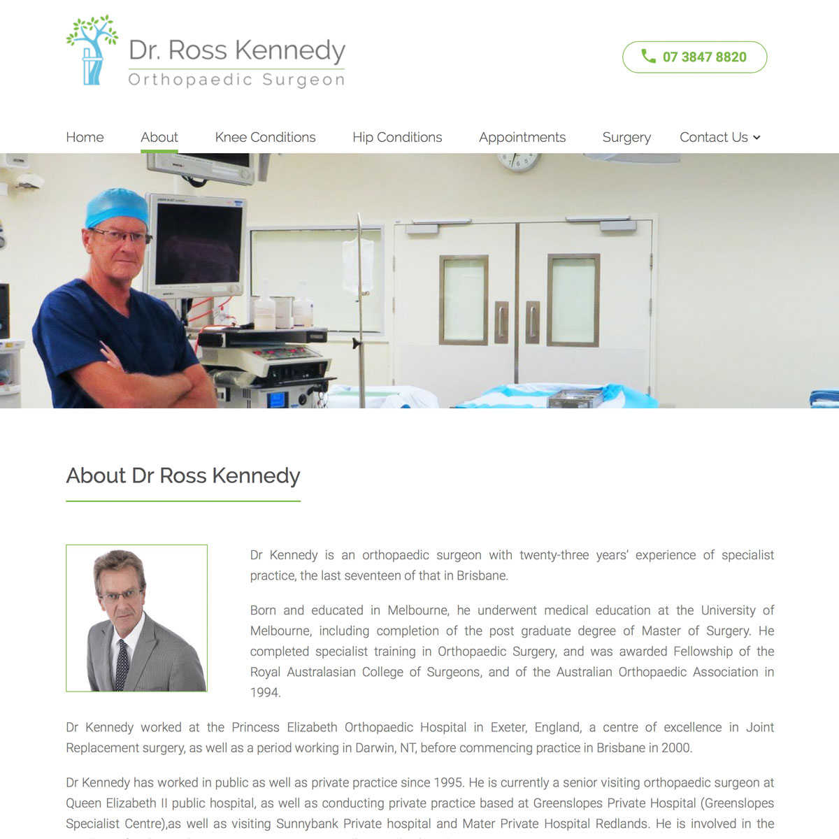 Dr Ross Kennedy - About