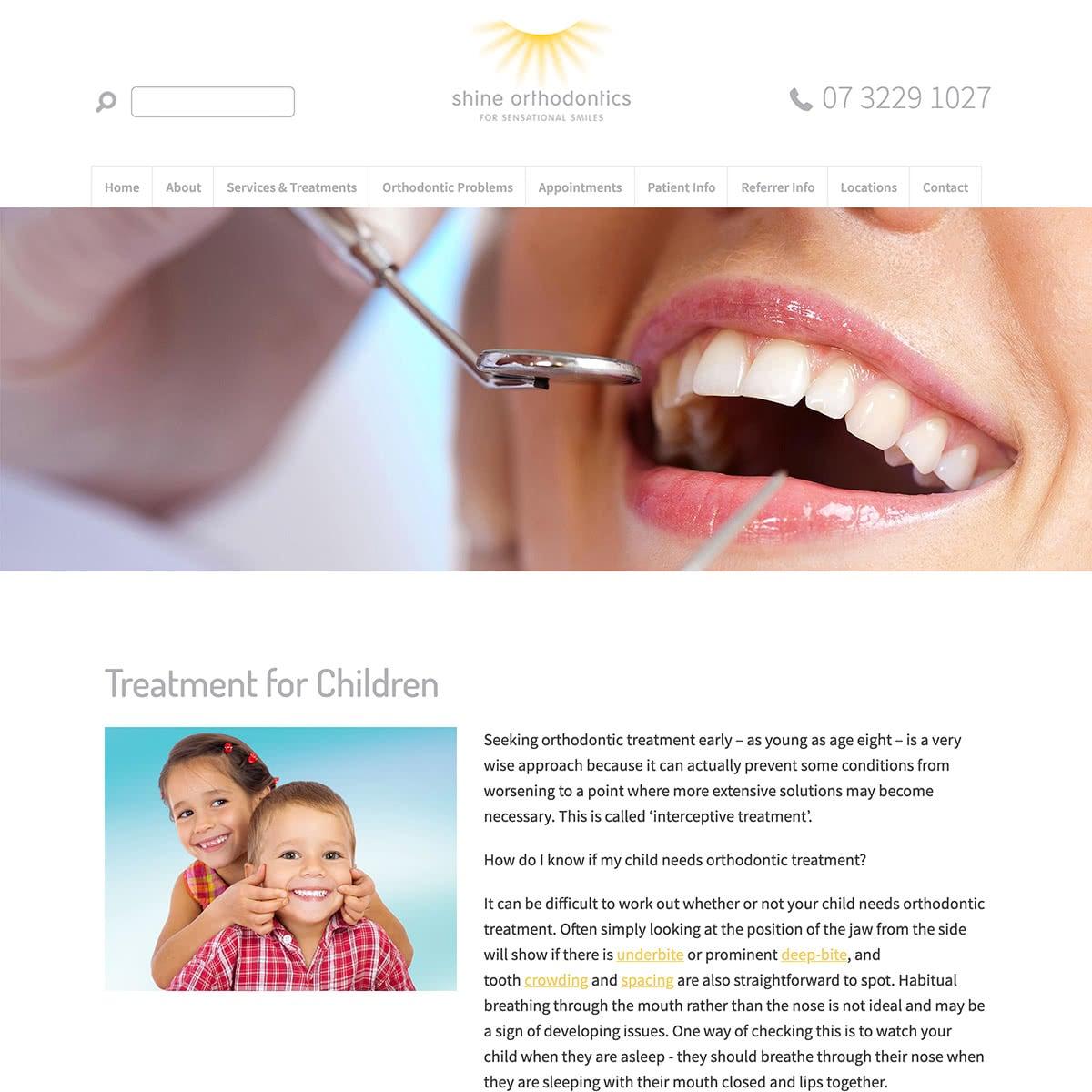 Shine Orthodontics - Services and Treatments