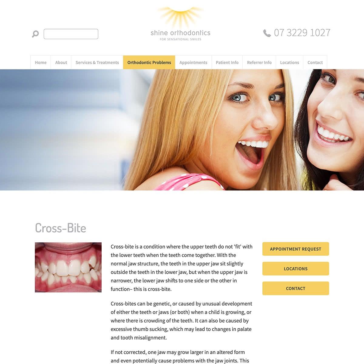 Shine Orthodontics - Orthodontic Problems