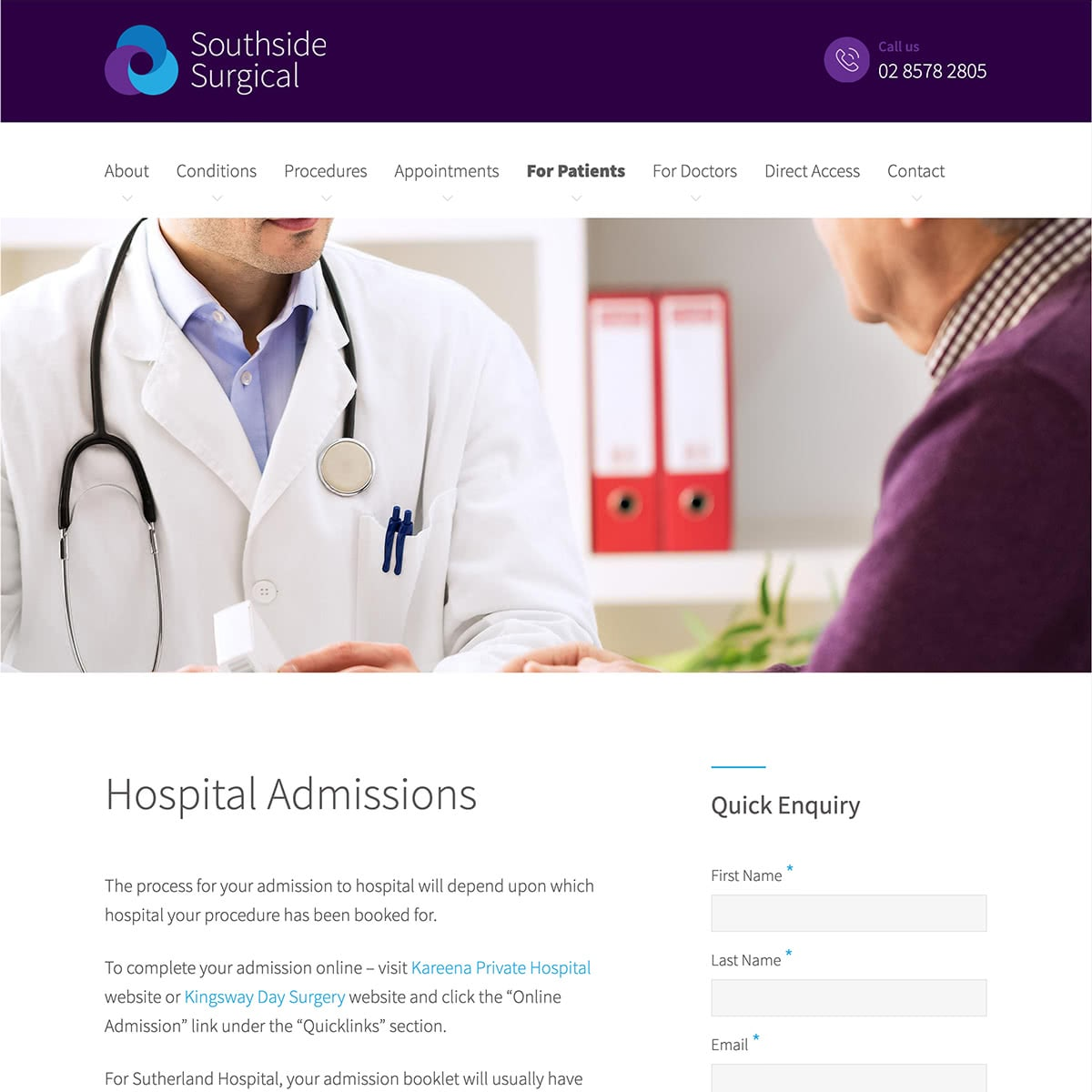 Southside Surgical - For Patients