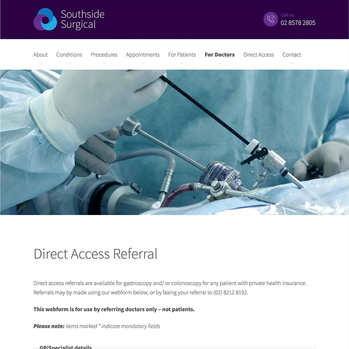Southside Surgical - For Doctors