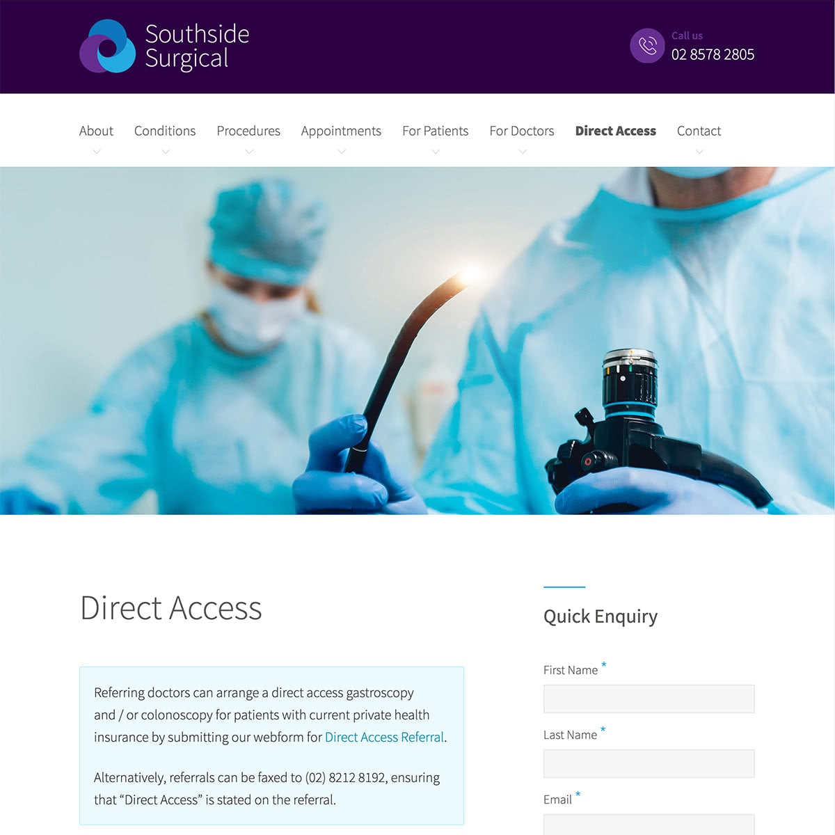 Southside Surgical - Direct Access
