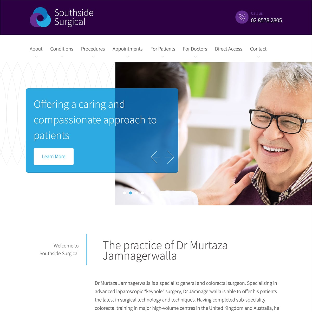 Southside Surgical - Homepage Banner 2