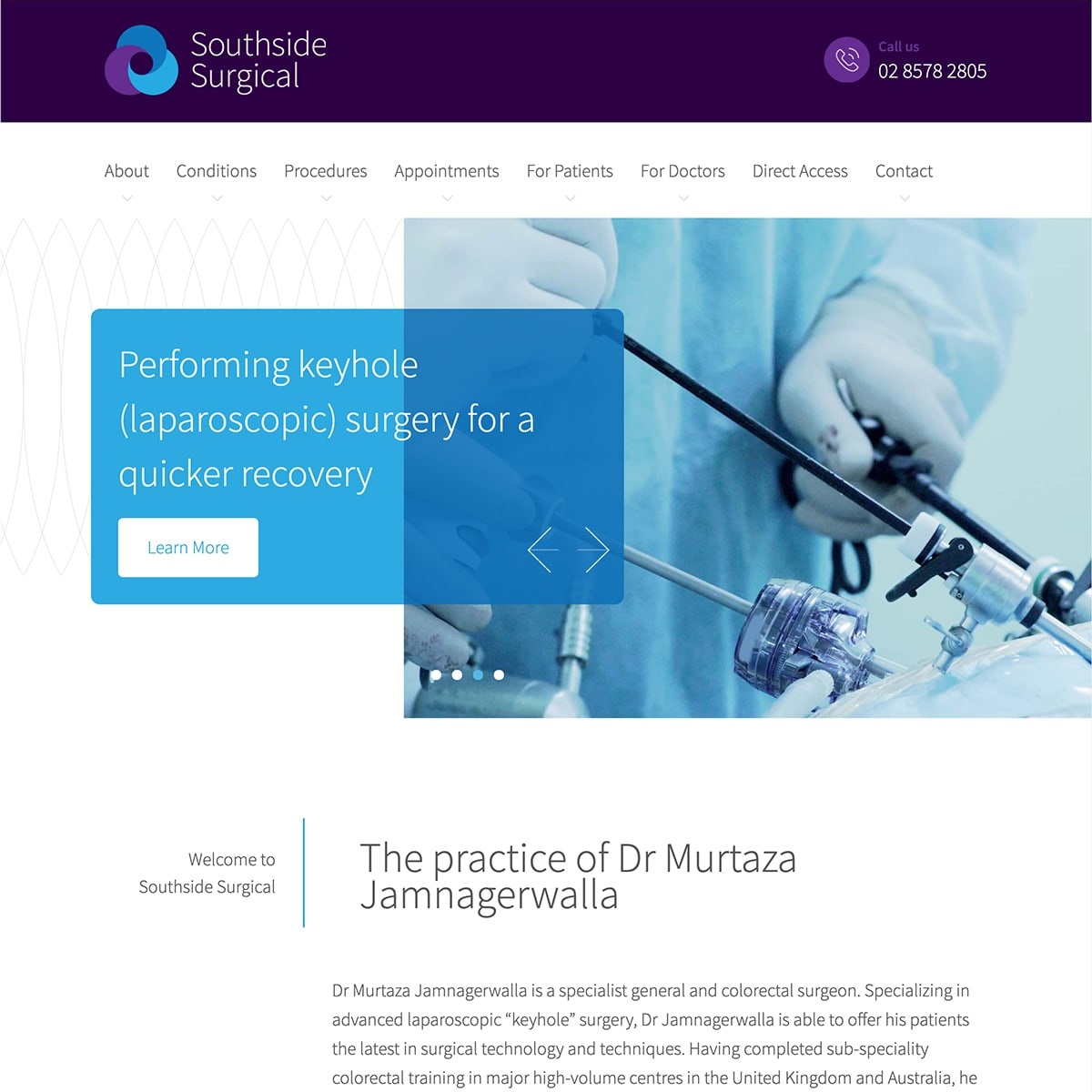 Southside Surgical - Homepage Banner 3