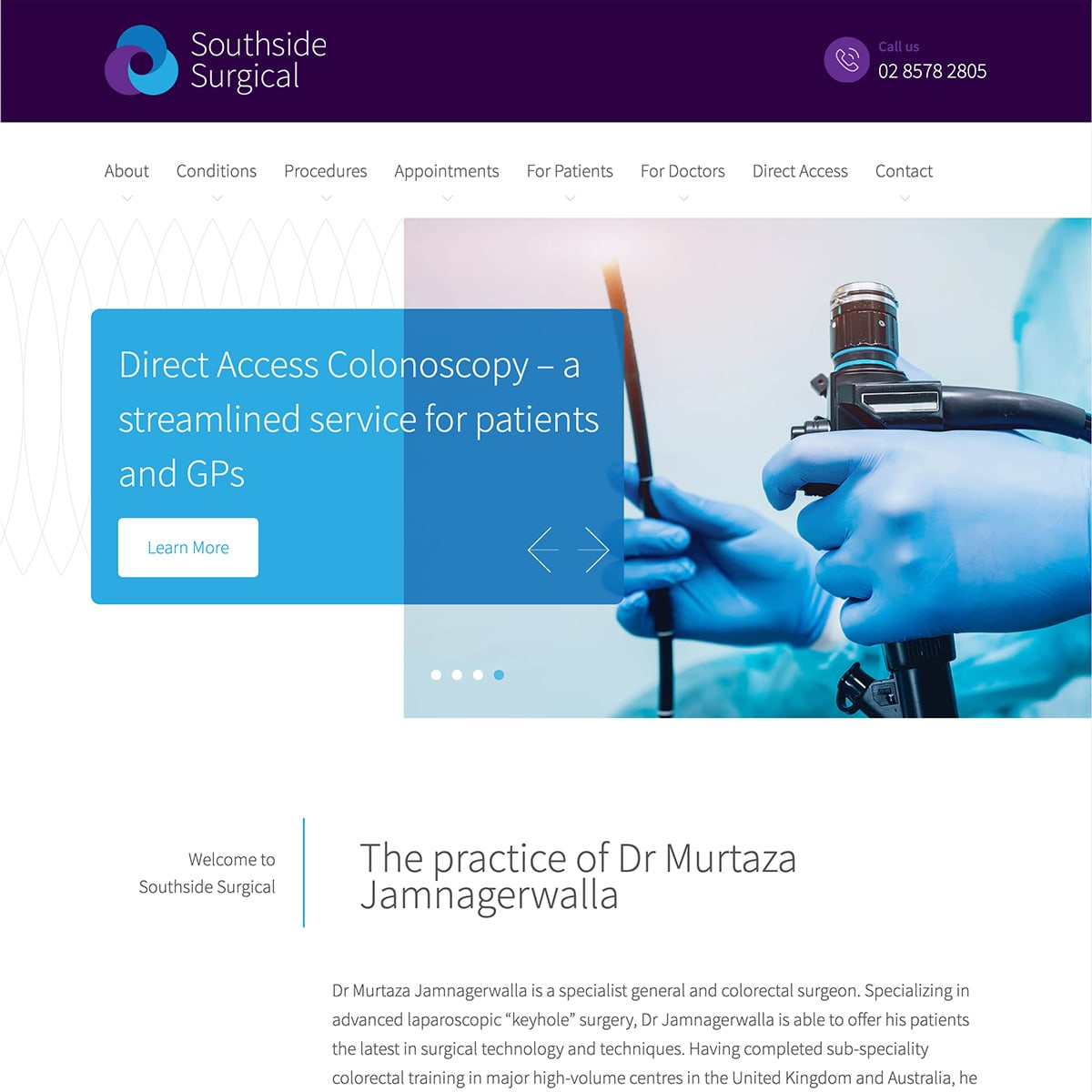 Southside Surgical - Homepage Banner 4