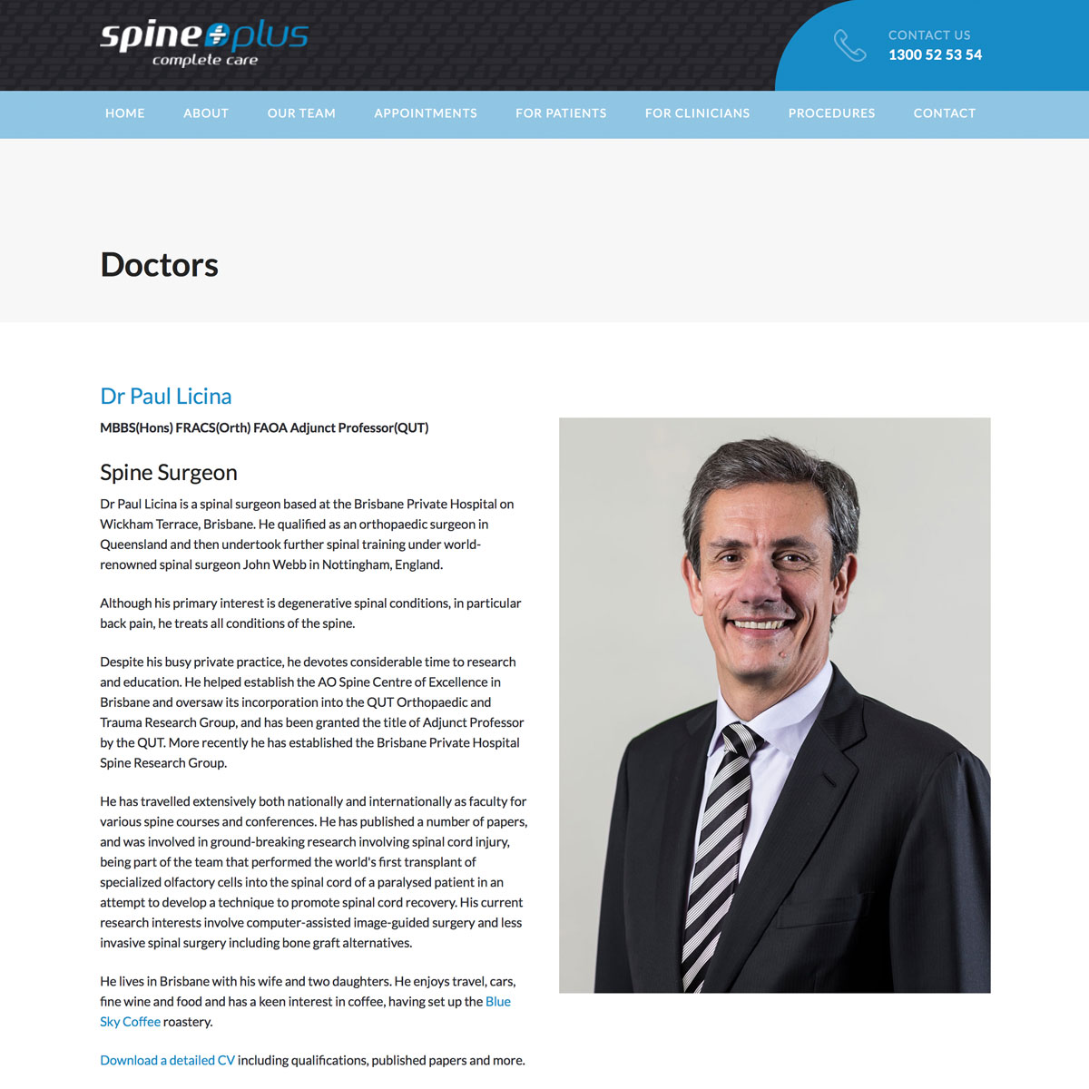 SpinePlus - Dr Paul Licina