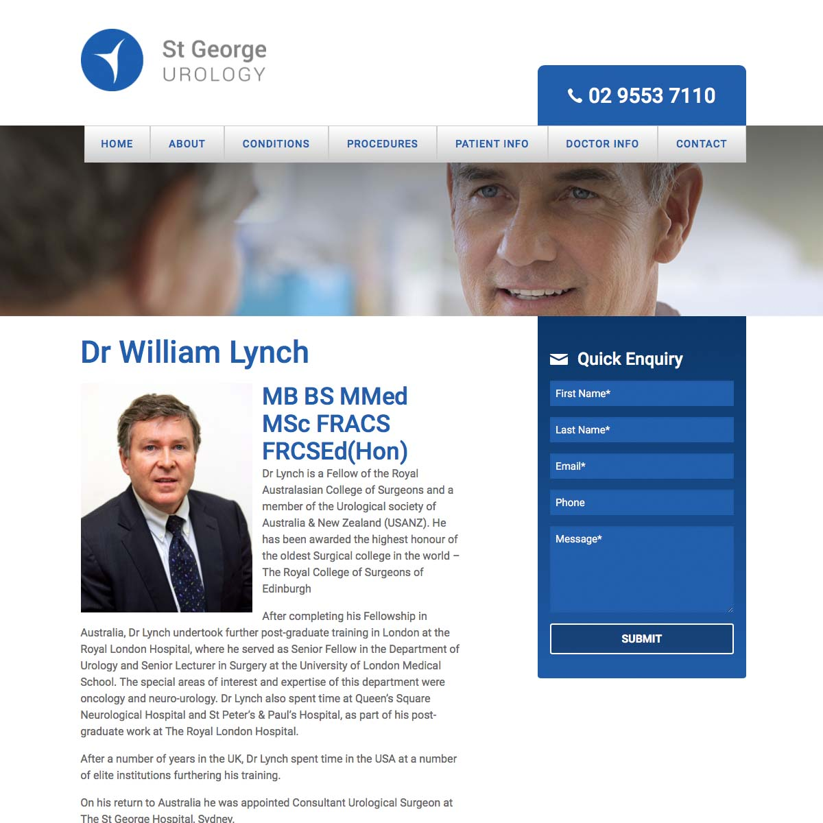 St George Urology Doctor