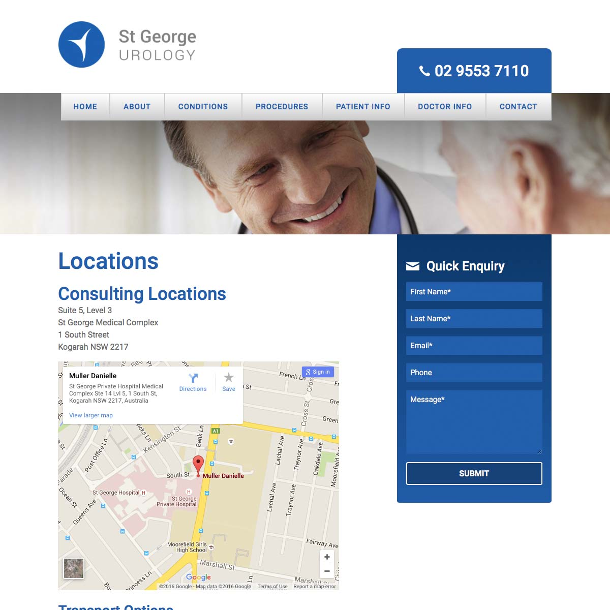 St George Urology Locations