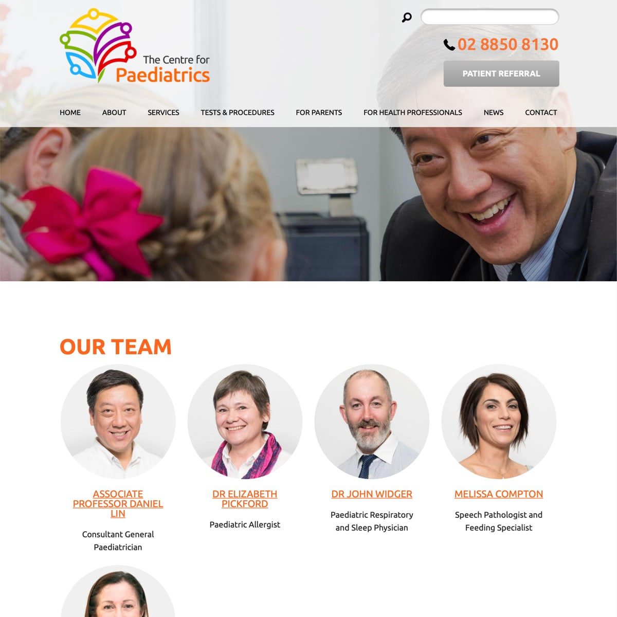 The Centre for Paediatrics - Our Team