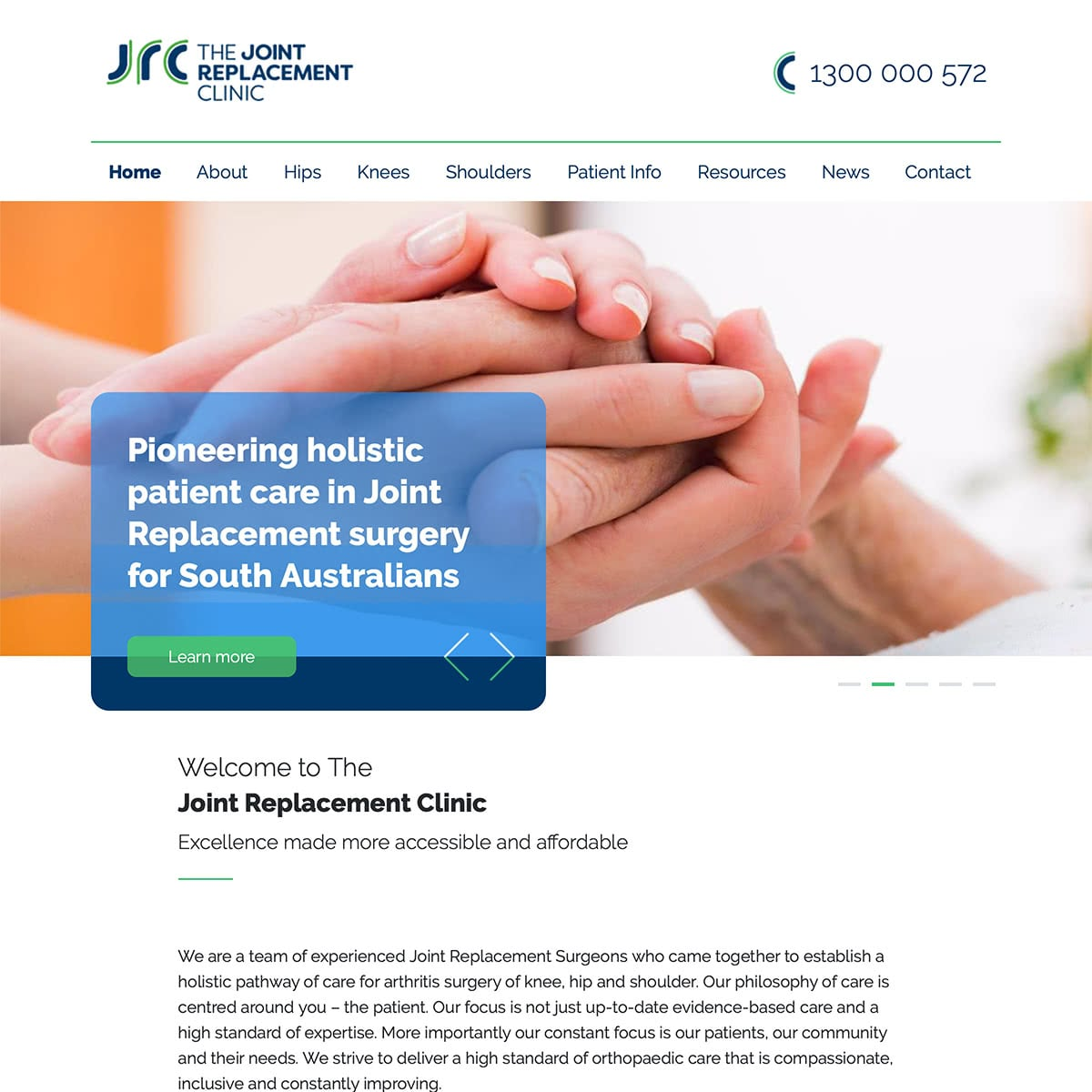 The Joint Replacement Clinic - Homepage