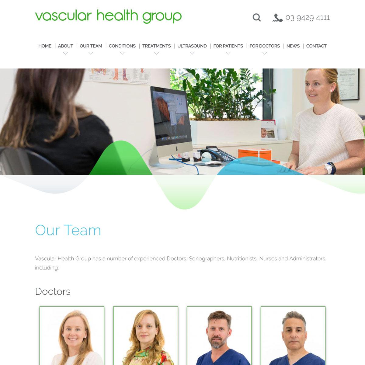 Vascular Health Group - Our Team
