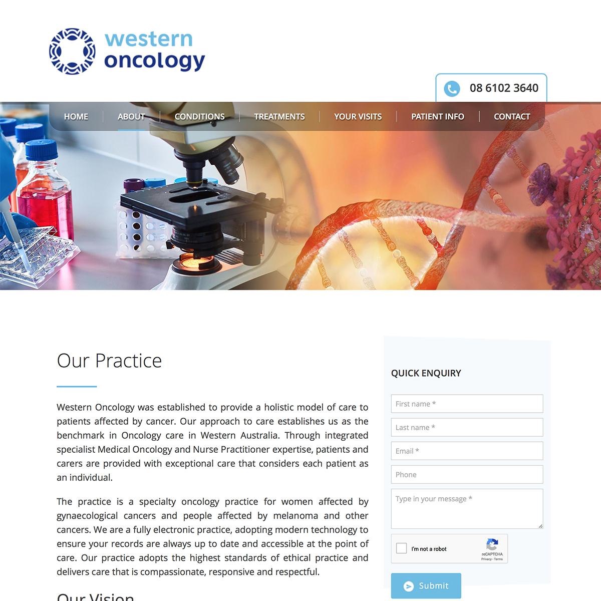 Western Oncology - Our Practice