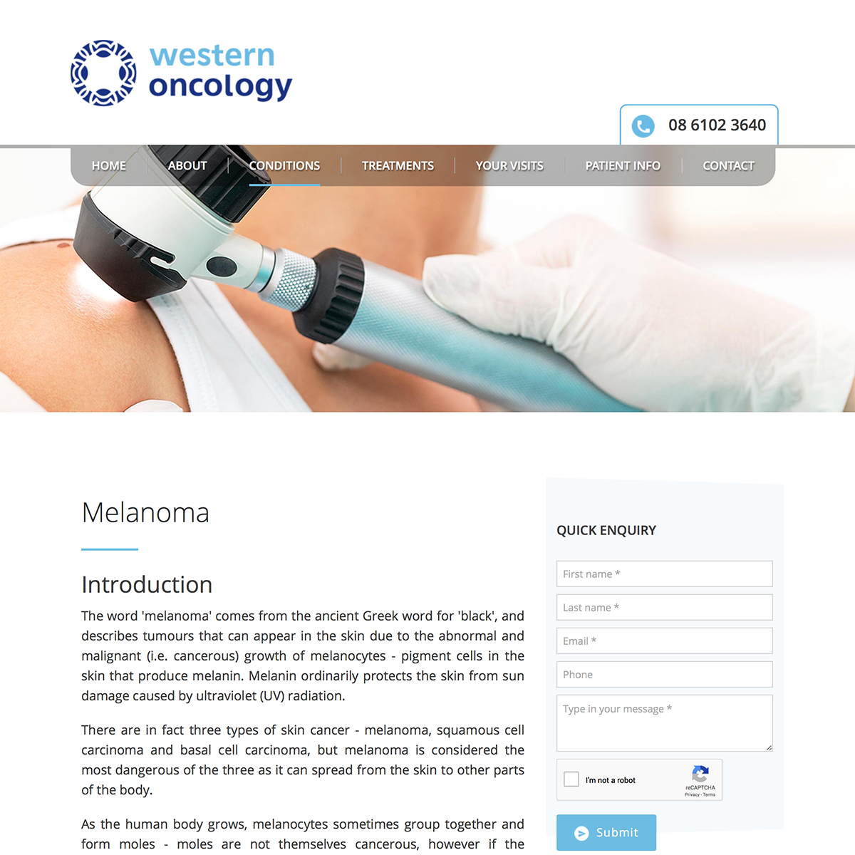 Western Oncology - Melanoma